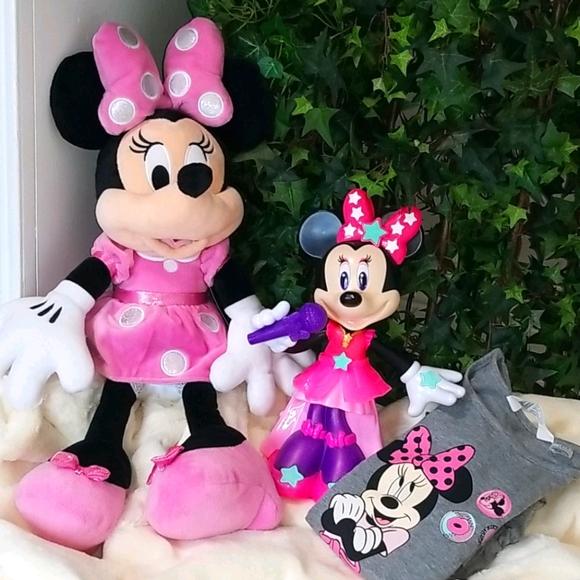 E/VGUC Lot Of Minnie Mouse/Disney Items
